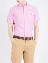 Polo Ralph Lauren Standard-fit short-sleeved cotton-oxford shirt