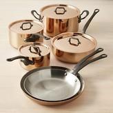 Williams-Sonoma Williams Sonoma Mauviel M250C Copper 10-Piece Cookware Set
