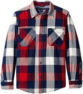Tommy Hilfiger Ansel Long Sleeve Shirt (Big Kids)