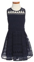 Bardot Toddler Girl's Junior Linear Lace Dress