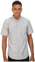 Obey Dissent Trait Woven Short Sleeve