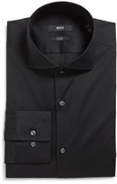 BOSS Men's 'Jason' Slim Fit Solid Stretch Dress Shirt