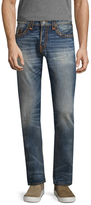 True Religion Rocco Whiskering Cotton Jeans