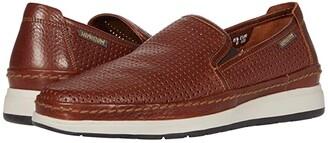 Mephisto Hadrian Perf (Navy Sportbuck) Men's Slip on Shoes
