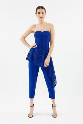 Coast Bandeau Lace Jumpsuit