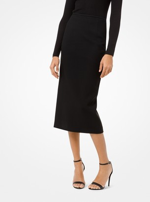 Michael Kors Double Crepe-Sable Pencil Skirt