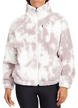Betsey Johnson Tie Dyed Fleece Jacket (64% off) Comparable value $84