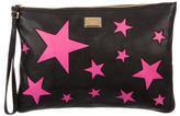 Dolce & Gabbana Star Leather Clutch