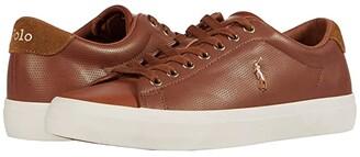 Polo Ralph Lauren Longwood (Black Perf Nappa Smooth Calf) Men's Shoes