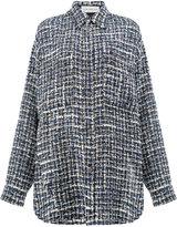 Faith Connexion oversized tweed jacket - women - Cotton/Acrylic/Polyamide/glass - XS