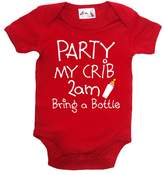 Dirty Fingers, Party, my Crib, 2am...Bring a Bottle, Baby Bodysuit, 3-6m