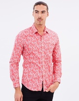 Replay Cotton Print Shirt