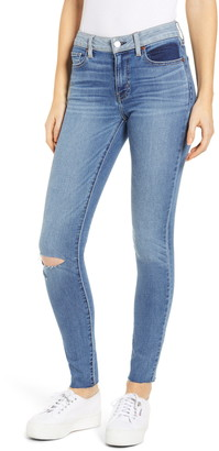 Atica ETICA Lily Ripped Ankle Skinny Jeans