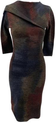 Bottega Veneta Brown Wool Dresses