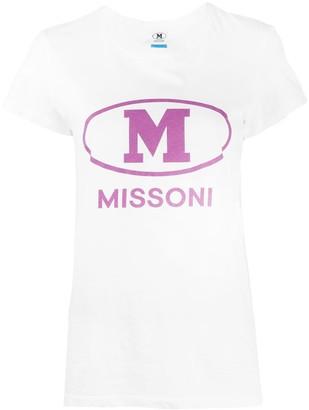 M Missoni logo print T-shirt