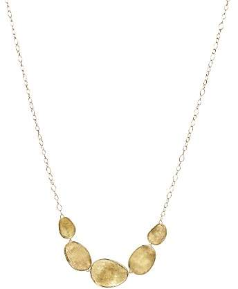"Marco Bicego 18K Yellow Gold Lunaria Half Collar Necklace, 16.5"""