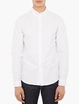 A.P.C. White Button-Down Shirt