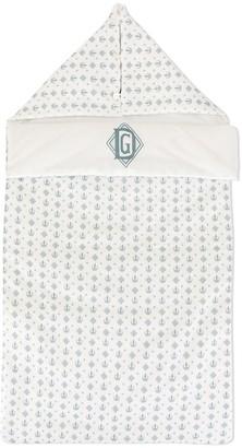Dolce & Gabbana monogram print sleeping bag