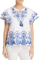 Parker Janis Embroidered Top