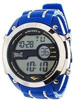 Everlast Everlat Jumbo Men' Digital Roundport LED Watch withiliconetrap