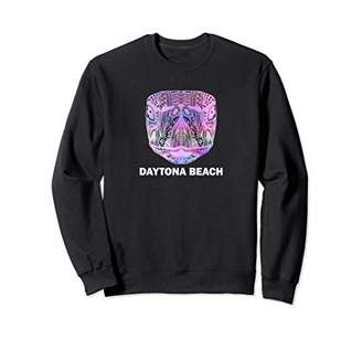 Daytona Beach Florida Hippie Tribal Sea Turtle Sweatshirt