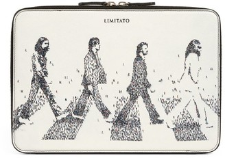 Limitato The Fab Four By Craig Alan Leather Document Holder