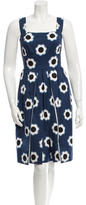 Prada Floral Sheath Dress