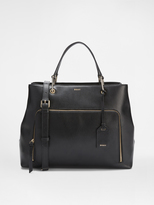 DKNY Large Leather Satchel