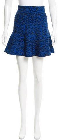 Issa Jacquard Flared Skirt w/ Tags