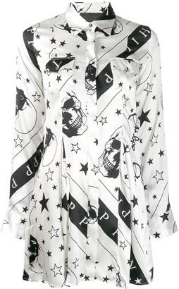 Philipp Plein Stars and Skull print shirt