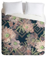 DENY Designs Khristian A Howell Bouquet in Blue Duvet