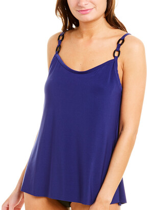 Magicsuit Solid Dd Kate Tankini Top