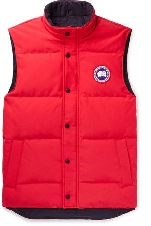 Canada Goose Garson Quilted Shell Down Gilet - Red