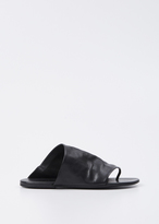 Marsèll black arsella thong sandal