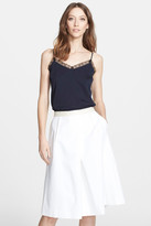 Nordstrom Lace Trim Silk Twill Camisole