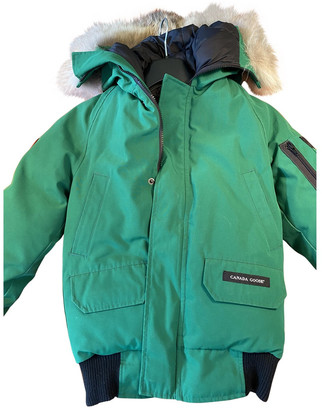 Canada Goose Green Cotton Coat for Women