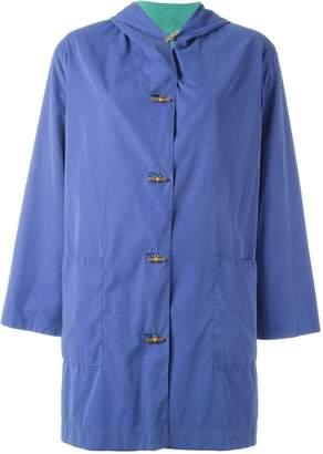 Hermes Pre-Owned hooded coat
