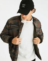 American Eagle Outfitters AE Camo Quilted Bomber Jacket