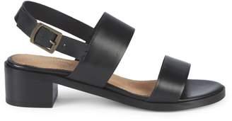 Seychelles Double Strap Leather Sandals