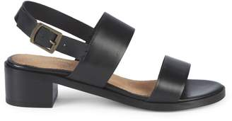 Seychelles Double Strap Leather Sandals