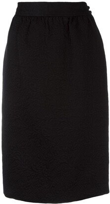 Emanuel Ungaro Pre Owned Jacquard Skirt