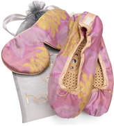 Holistic Silk Eye Mask Slipper Gift Set - Rose (Various Sizes) - S