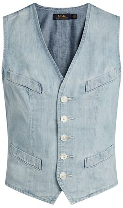 Polo Ralph Lauren Denim Button-Up Gilet