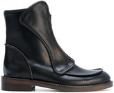 Marni front zip boots