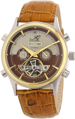 Ingraham Men's Automatic Watch Marrakesh IG MARR.1.200118 with Leather Strap