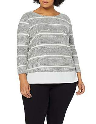 Tom Tailor Casual Women's 1011823 Sweatshirt,(Size: 48)