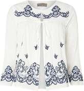 Vero Moda **Vero Moda White Embroidered Blouse