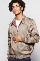 boohoo Cotton Harrington Jacket khaki