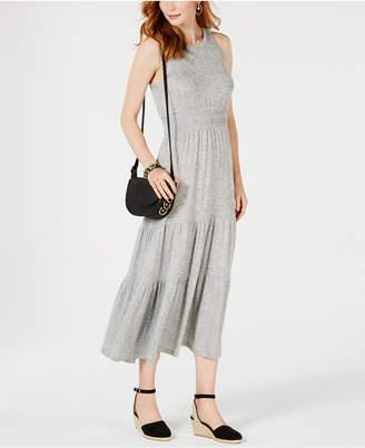 Lucky Brand Tiered Sleeveless Maxi Dress