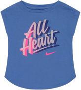 Nike Short-Sleeve Graphic Tee - Preschool Girls 4-6x
